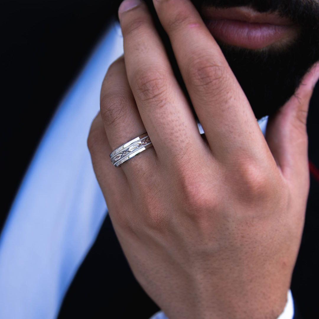 A Guide to Cobalt Wedding Rings for Men, an Alternative to White Gold