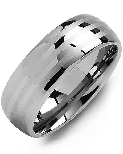 Men's & Women's Tungsten Wedding Band from MADANI Rings. Wedding bands, fashion rings, promise rings, made of Tungsten, Ceramic, Cobalt, and Gold. View the collection at madanirings.com
