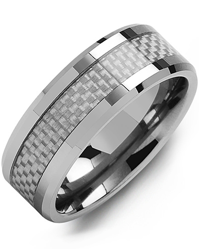 Men's & Women's Tungsten & Carbon Fiber Wedding Band