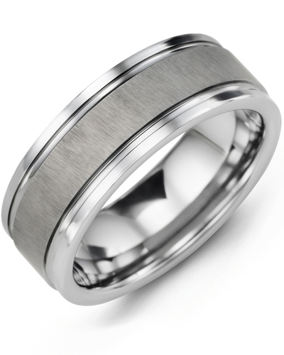 Men's & Women's Tungsten Wedding Band