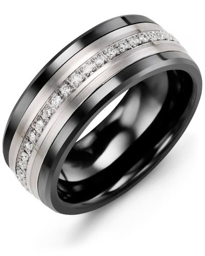 Men's Eternity Diamond Wedding Band