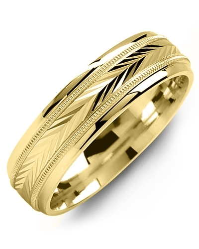 Men's & Women's Yellow Gold Wedding Band