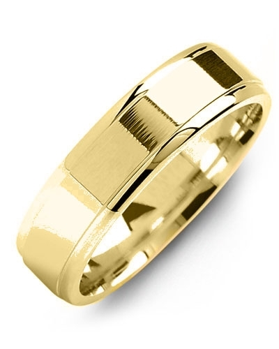 Men's & Women's Yellow Gold & Yellow Gold Wedding Band 10K 5mm