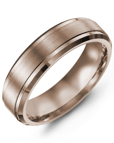 Men's & Women's Rose Gold & Rose Gold Wedding Band