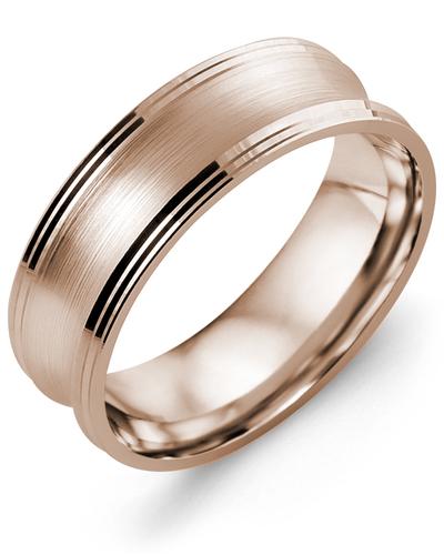 Men's & Women's Rose Gold Wedding Band