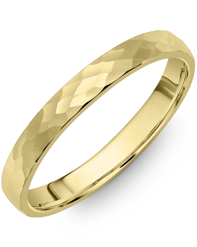 Men's & Women's Dome Yellow Gold Wedding Band from MADANI Rings. Wedding bands, fashion rings, promise rings, made of Tungsten, Ceramic, Cobalt, and Gold. View the collection at madanirings.com