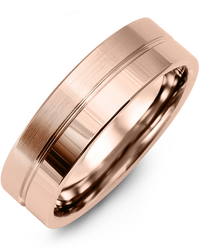 Men's & Women's Rose Gold Wedding Band