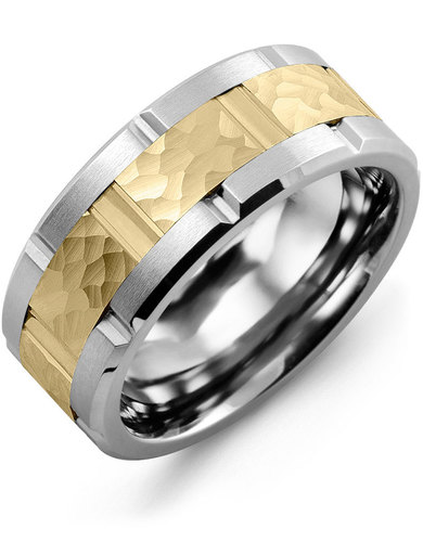 GEARS OF LOVE from MADANI Rings. Wedding bands, fashion rings, promise rings, made of Tungsten, Ceramic, Cobalt, and Gold. View the collection at madanirings.com